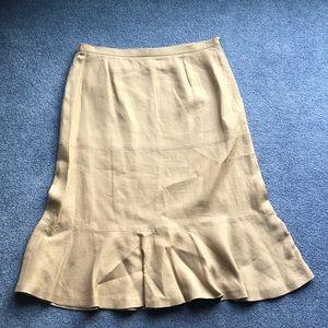 Style & Co Khaki Maxi skirt